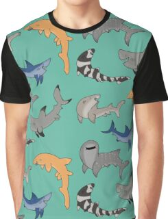 Sharks!  Graphic T-Shirt