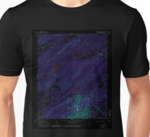 USGS TOPO Map Arkansas AR Hot Springs North 258768 1966 24000 Inverted Unisex T-Shirt