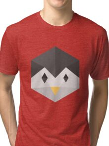 Penguin (black) Tri-blend T-Shirt