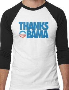Thanks Obama Men's Baseball ¾ T-Shirt
