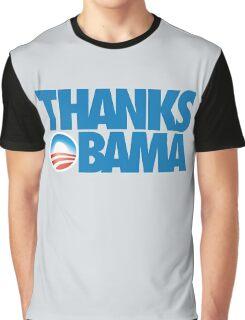 Thanks Obama Graphic T-Shirt