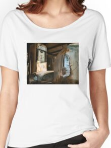Abandoned 1944 Cadillac Emblem Women's Relaxed Fit T-Shirt