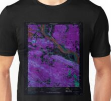 USGS TOPO Map Arkansas AR Pinnacle Mountain 259413 1961 24000 Inverted Unisex T-Shirt