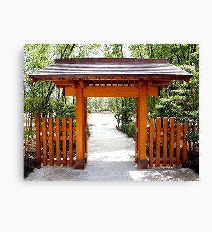 Asian Gate Canvas Print