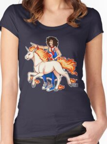 Pokemon Trainer Danny Sexbang Women's Fitted Scoop T-Shirt