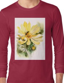 """""""Healing Your Heart"""" from the series """"Blossoming Planet"""" Long Sleeve T-Shirt"""
