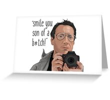 Chief Brody Photography Service Greeting Card