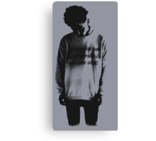 im sorry but i literally do not care at all Canvas Print