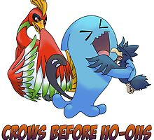 Crows Before Ho-Ohs by xrazeovation