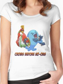 Crows Before Ho-Ohs Women's Fitted Scoop T-Shirt