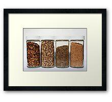 Spice Row Framed Print