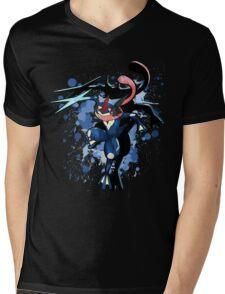 The Water Ninja Mens V-Neck T-Shirt