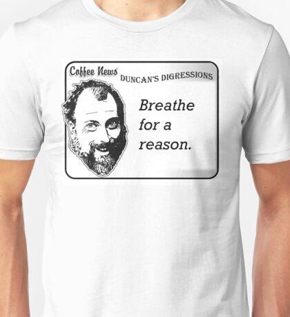 Breathe For A Reason Unisex T-Shirt