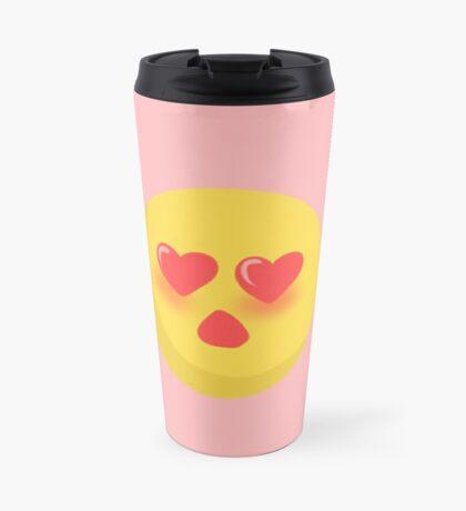 Heart Love Emoji- Singular Travel Mug