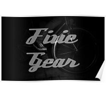 Fixie gear Poster