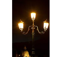 night in venice Photographic Print
