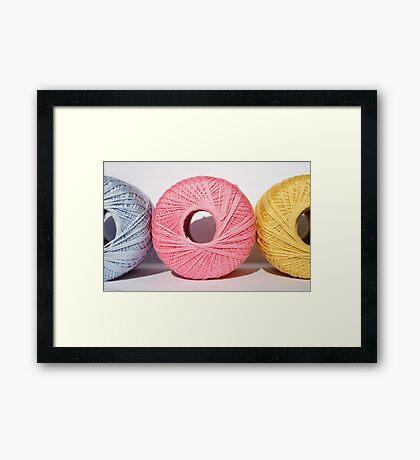 Bound Framed Print