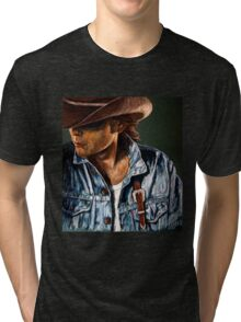 Just Another Cowboy Tri-blend T-Shirt