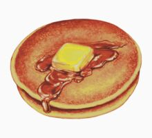 Pancakes Pattern - Blue Kids Clothes
