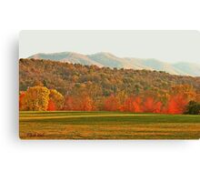 """View of the Smokies  from Mountain Home, Tennessee""... prints and products Canvas Print"