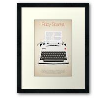 Ruby Sparks Framed Print