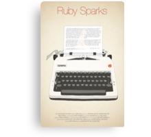 Ruby Sparks Canvas Print