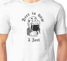 beer beer party cool drinking funny t shirts Unisex T-Shirt