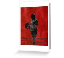 Foxey Lady Greeting Card