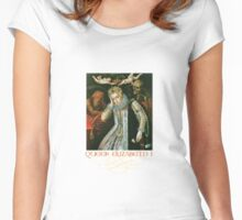 Queen Elizabeth I of England (Old Age) Women's Fitted Scoop T-Shirt