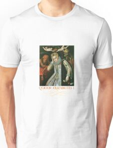 Queen Elizabeth I of England (Old Age) Unisex T-Shirt