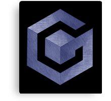 °GEEK° Gamecube Denim Logo Canvas Print