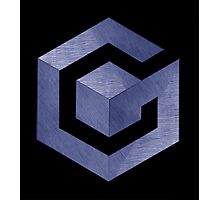 °GEEK° Gamecube Denim Logo Photographic Print