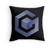 °GEEK° Gamecube Denim Logo Throw Pillow