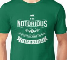 Conor McGregor Two-weight UFC world champion Unisex T-Shirt