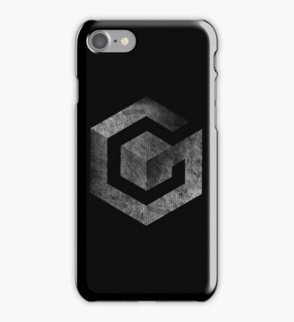 °GEEK° Gamecube B&W Logo iPhone Case/Skin