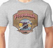 PropWash Brewing Co. - Radial Red DHC-2 Beaver Floatplane Unisex T-Shirt