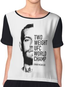McGregor  Two-weight UFC world champion Chiffon Top