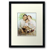 Cheng Family Framed Print