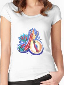 Milotic Women's Fitted Scoop T-Shirt