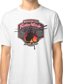 RotorWash Brewing Co. - Lean'n Lager Skycrane Classic T-Shirt