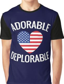 Adorable Deplorable Graphic T-Shirt