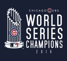 Chicago Cubs Champions 3 Kids Tee