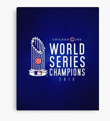 Chicago Cubs Champions 3 Canvas Print