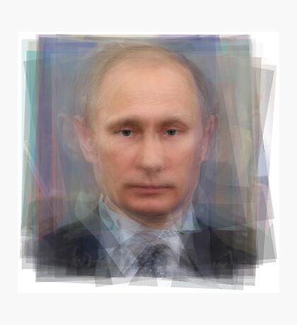 Vladimir Putin Portrait Photographic Print