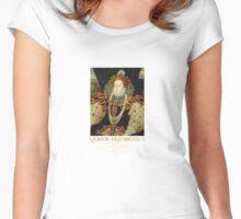 Queen Elizabeth I of England Women's Fitted Scoop T-Shirt