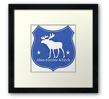 abercrombie & fitch Framed Print