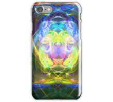 Space Psychedelic Sphere  iPhone Case/Skin
