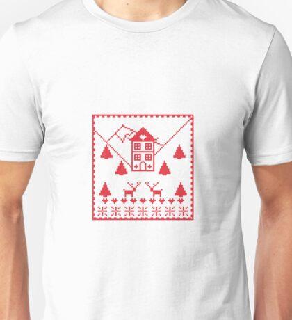 Scandi Christmas Unisex T-Shirt