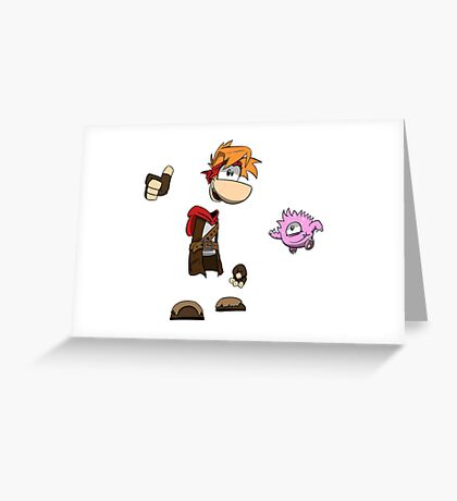 Rayman Adventures Greeting Card