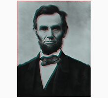 Glitched Abraham Lincoln Unisex T-Shirt